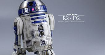 R2-D2 em Star Wars Despertar da Força – Action Figure Perfeita Hot Toys Star Wars