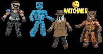 Watchmen Minimates – Mini-Figuras Articuladas