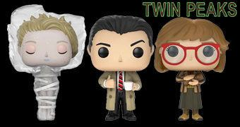 Twin Peaks Pop! – Bonecos Funko da Série de David Lynch