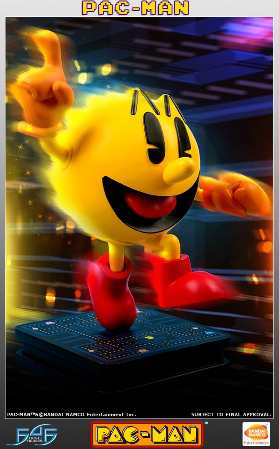 Pac-Man-17-Inch-Statue-First4Figures-05
