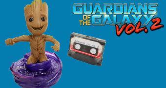 Baby Groot Rock N' Roll: Dança, Gira e Fala!