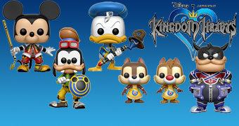 Bonecos Pop! Disney do Game Kingdom Hearts