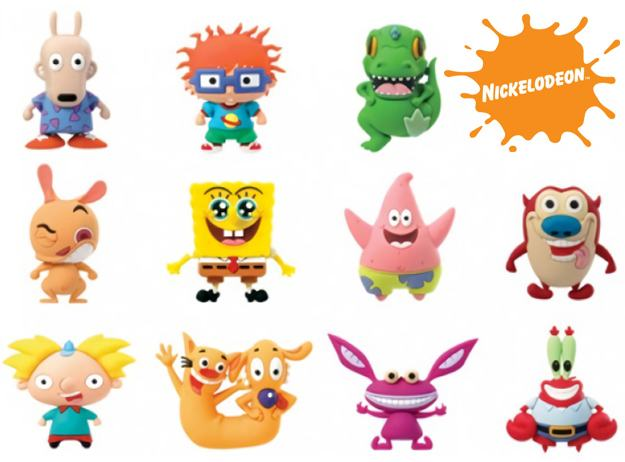 Chaveiros-Nickelodeon-Classics-Series-3-D-Figural-Foam-Keychains-01