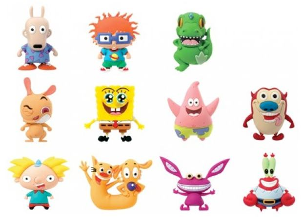 Chaveiros-Nickelodeon-Classics-Series-3-D-Figural-Foam-Keychains-03