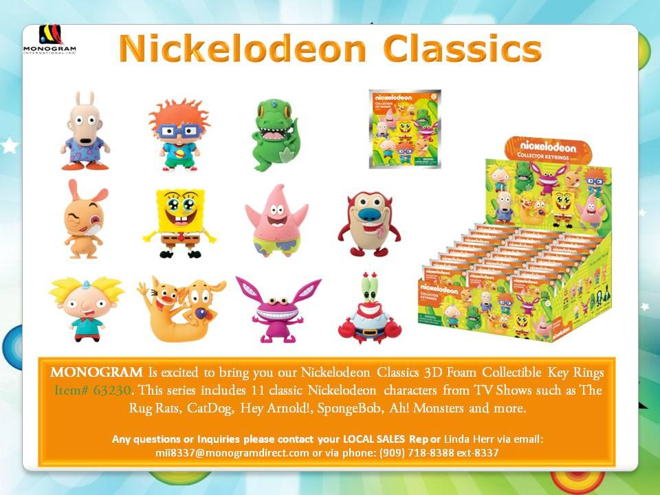 Chaveiros-Nickelodeon-Classics-Series-3-D-Figural-Foam-Keychains-04