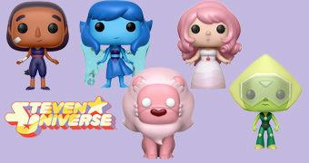 Steven Universe Pop! – Bonecos da Série Animada do Cartoon Network