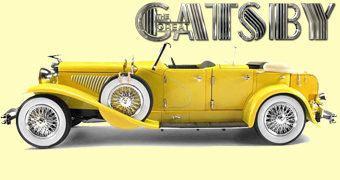 O Grande Gatsby: Duesenberg II SJ em Escala 1:18