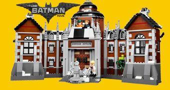 LEGO Arkham Asylum com 1.628 Peças (LEGO Batman Movie)