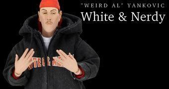 """Weird Al"" Yankovic ""White and Nerdy"" Action Figure Neca"