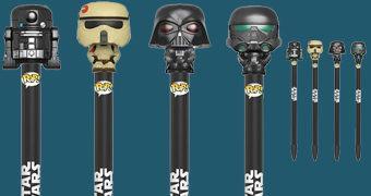 Canetas Funko Pop! Pen Star Wars Rogue One