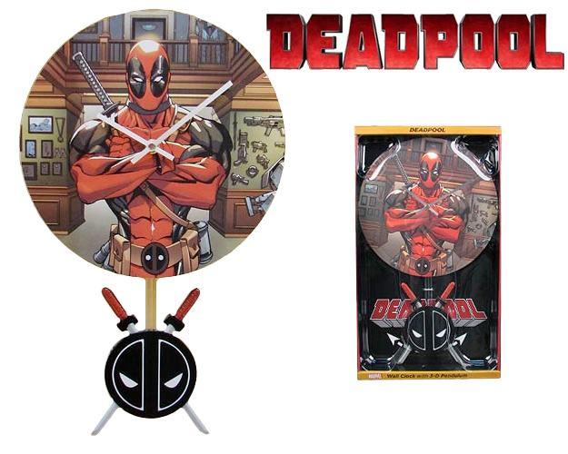 Relogio-de-Parede-Deadpool-3-D-Pendulum-Wall-Clock-01