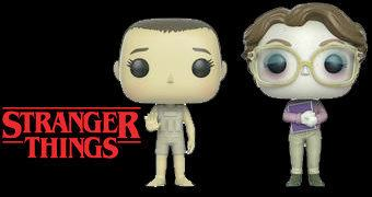 Bonecas Stranger Things Pop! Upside Down: Eleven e Barb