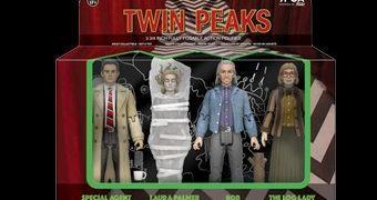 Twin Peaks Action Figures Retro da Série de David Lynch