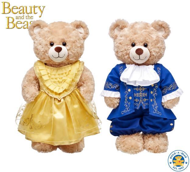 A-Bela-e-a-Fera-Build-A-Bear-Ursos-Pelucia-06