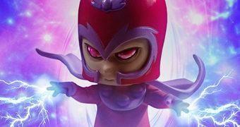 Magneto Animated Statue – Estátua Gentle Giant Estilo Bebê