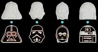 Pratinhos de Shoyo Star Wars de Porcelana Arita Japonesa