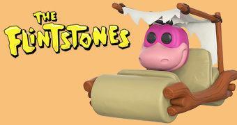 Funko Pop! Rides: Dino e o Carro dos Flintstones