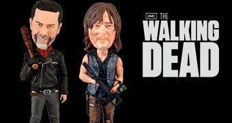 The Walking Dead Bobble Heads Royal Bobbles: Daryl e Negan