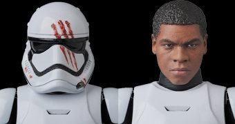 Action Figure Medicom MAFEX Star Wars VII: Stormtrooper FN-2187 (Finn)