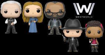 Westworld Pop! – Bonecos Funko da Série da HBO