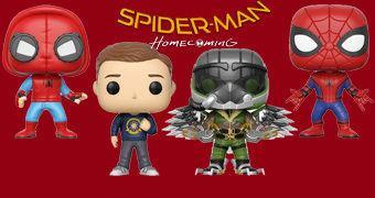 Bonecos Pop! O Homem-Aranha Está De Volta (Spider-Man Homecoming)