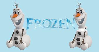Pote de Cookies Olaf Frozen – Uma Aventura Congelante
