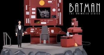 Bat-Caverna Playset do Desenho Batman: A Série Animada