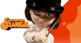 Living Dead Dolls Apresenta: Alex DeLarge em Laranja Mecânica