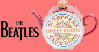 Bule de Chá Beatles Sgt. Pepper's Lonely Hearts Club Band