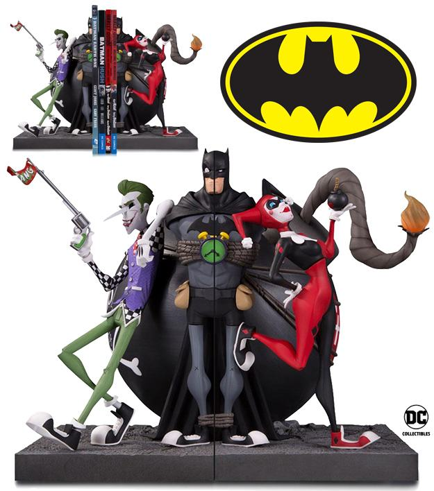 Batman-Joker-and-Harley-Bookend-Statue-01