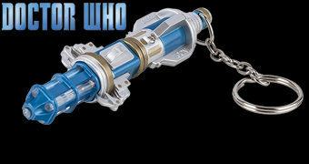 Chaveiro Doctor Who Chave de Fenda Sônica (Sonic Screwdriver) do 12º Doctor