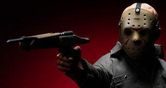 "Jason Voorhees ""Sexta-Feira 13 Pt III"" – Action Figure Perfeita 1:6 Sideshow Collectibles"