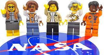 As Mulheres da NASA – Set LEGO Women of NASA