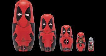 Bonecas Russas Matryoshkas: A Família Deadpool!