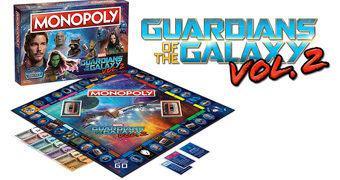 Guardiões da Galáxia Vol. 2 Monopoly