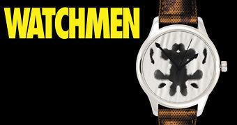Relógio de Pulso Watchmen Rorschach (DC Watch Collection)