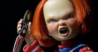 Chucky, o Brinquedo Assassino – Action Figure Retro Neca