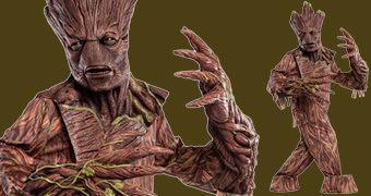 Groot Fantasia de Corpo Inteiro (Guardiões da Galáxia)