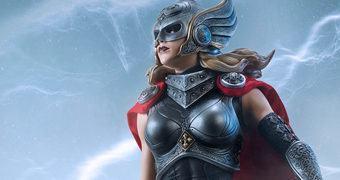 Thor Jane Foster Premium Format – Estátua 1:4 Sideshow Collectibles