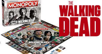 The Walking Dead TV Show Monopoly