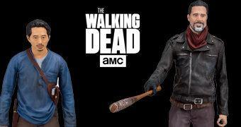 Action Figures Negan & Glenn The Walking Dead TV Series Deluxe Box Set