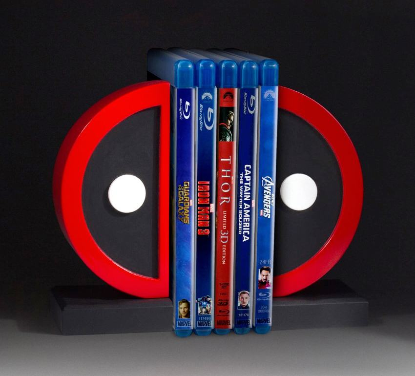 Apoio-de-Livros-Deadpool-Logo-Bookend-Set-06