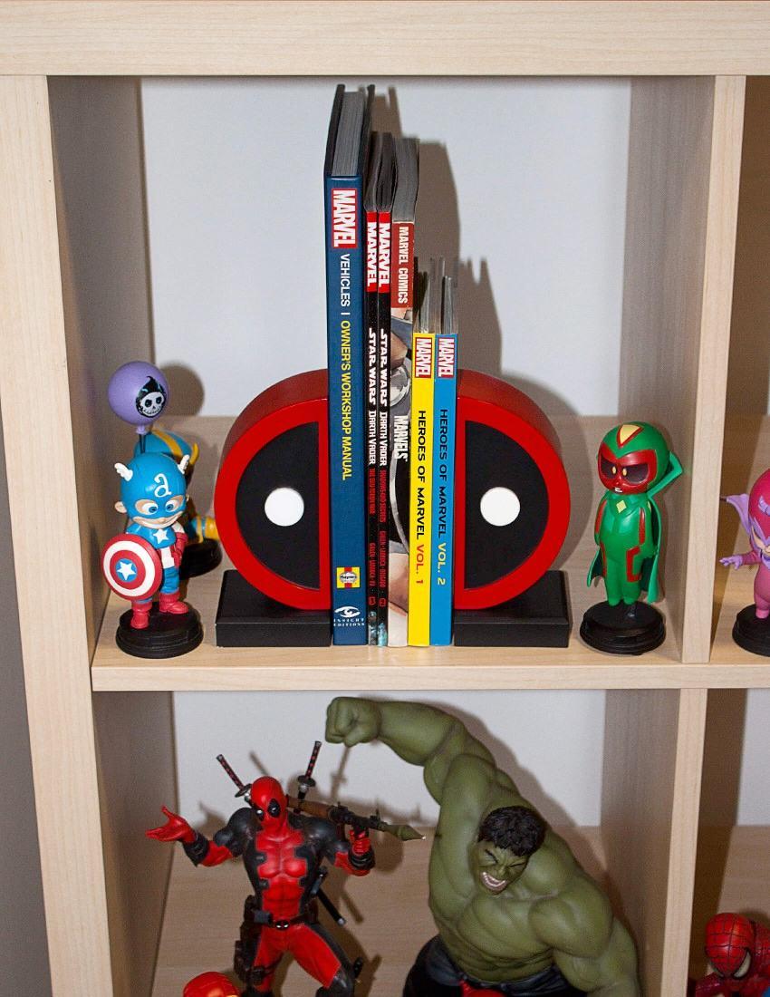 Apoio-de-Livros-Deadpool-Logo-Bookend-Set-07