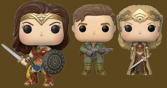 Bonecas Pop! do Filme Mulher Maravilha (Wonder Woman Movie)