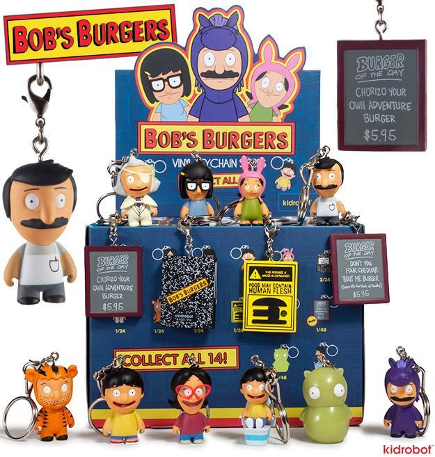 Chaveiros-Bobs-Burgers-Blind-Box-Keychain-Series-01