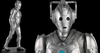 "Mega Cyberman Special Figurine do Episódio ""Nightmare in Silver"" de Neil Gaiman (Doctor Who)"