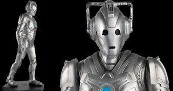 "Mega Cyberman Special Figurine do Episódio ""Nightmare in Silver"" de Neil Gaiman (Doctor Who)"