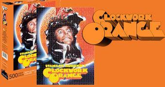 Quebra-Cabeça do Filme Laranja Mecânica com 500 Peças (Stanley Kubrick)