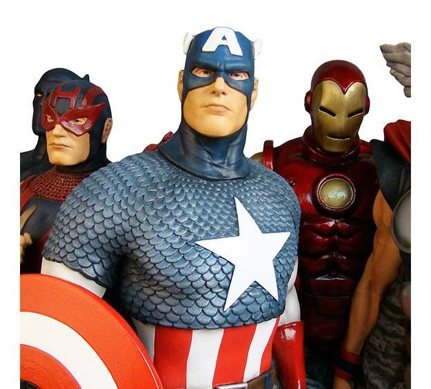 The-Avengers-Assemble-Alex-Ross-Fine-Art-Sculpture-02