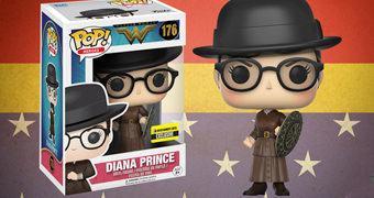 Boneca Pop! Mulher Maravilha Disfarçada como Diana Prince